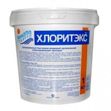 Средство для бассейна ХЛОРИТЕКС гранулы (*шок*-хлор) *1кг* Маркопул
