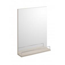 Зеркало SMART CERSANIT 50х65 с полочкой белое/ясень Cersanit