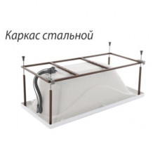 Каркас сталь ТРИТОН для ванны 1,50; 1,60; 1,70х0,70 усиленный