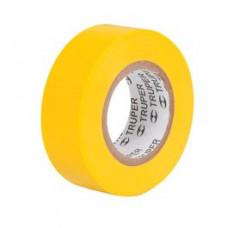 Изолента 19мм х 9м желтая TRUPER арт 13512