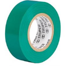 Изолента 19мм х 9м зеленая TRUPER арт 13511