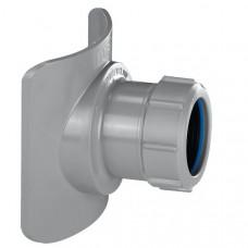 Врезка в канализацию d=110 d=50 под компрессию BOSSCONN 110-50-GR