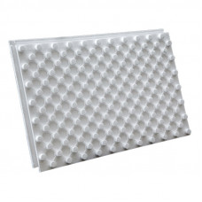 Плита т/изол д/укладки тепл пола М-50 (1,2х0,7х0,045м/0,84м²/35 кг/м³) Термопол