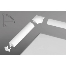 Планка декоративная для поддонов 1,1м/6мм RAVAK арт XB441100001