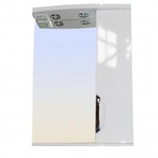 Зеркало LORANTA Cтиль 58 с подсветкой правое ш580 х гл180 х в745