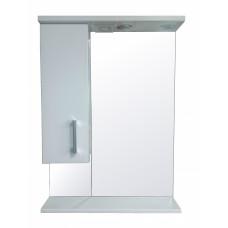 Зеркало-шкаф LORANTA Модерн 60 с подсветкой левое ш600 х гл160 х в825