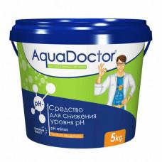 Средство для бассейна AQUADOCTOR PH-minus для снижения уровня РН *5кг гранулы*