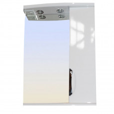 Зеркало LORANTA Коралл 58 с подсветкой правое ш580 х гл180 х в745