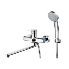 Душевая система G-LAUF (смеситель, стойка, верхний душ, лейка, шланг) арт GOB16-A134