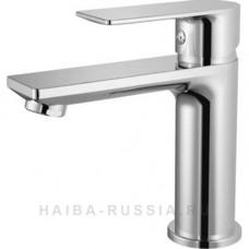 Смеситель д/умывальника HAIBA монобукса хром арт HB10505