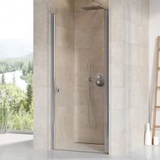 Дверь для душевой  RAVAK CSD 1-90 одноэлементная, профиль - полированный алюминий, стекло Transparent