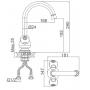 Смеситель для кухни D&K арт DA1422401