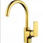 Смеситель для кухни D&K монобукса золото (титан) арт DA1432403