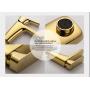 Смеситель для умывальника D&K монобукса золото (титан) арт DA1432103