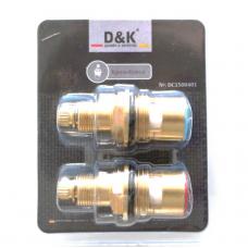 """Кран-букса для смесителя D&K 1/2"""" арт DC1500401"""