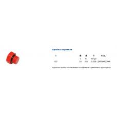 Заглушка Ekoplastik d=1/2 РС короткая