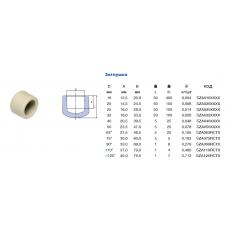 Заглушка Ekoplastik d=20