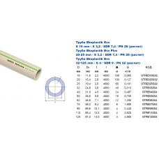 Труба Ekoplastik Evo S4 d=25 *60