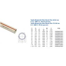 Труба Ekoplastik FIBER Basalt Plus d=32 *40