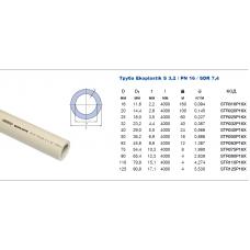 Труба Ekoplastik PN 16 d=20 *100