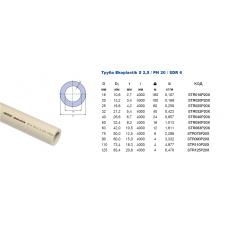 Труба Ekoplastik PN 20 d=20 *100
